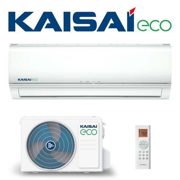 KAISAI ECO Klimaanlage SET KEX-24HRD mit Wandgerät 7,0 kW