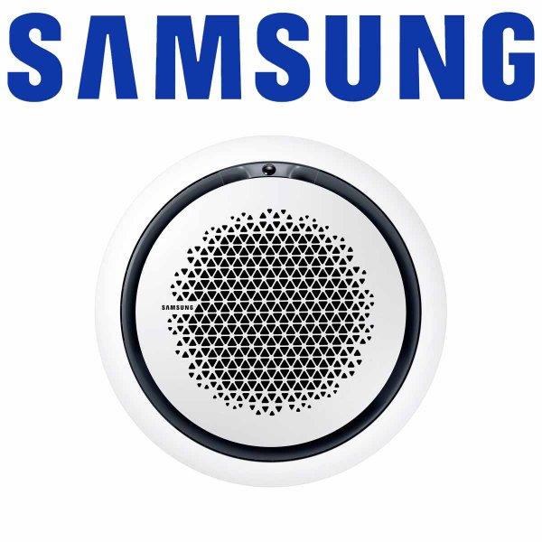 Samsung AC 140 Wind-Free 360° Kassette & Paneel rund weiß 13,4 kW | RN4PKG/EU + PC4NUNMAN
