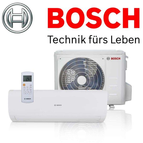 BOSCH Climate 5000 Set 26 E Singlesplit Klimaanlage 2,6 kW für 1 Raum bis 40qm