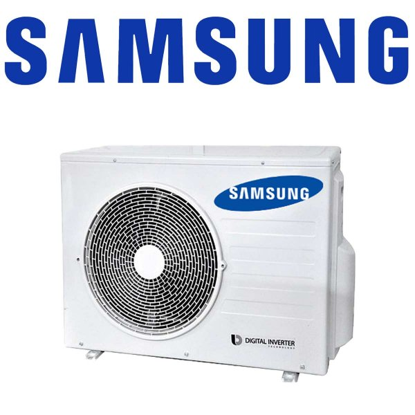 SET Samsung Außeneinheit 5kW mit 2 Standtruhen 2,6kW für 1-2 Räume bis 70qm
